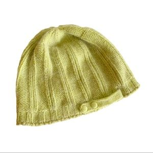 Simons Lambswool Angora Blend Green Lime Hat